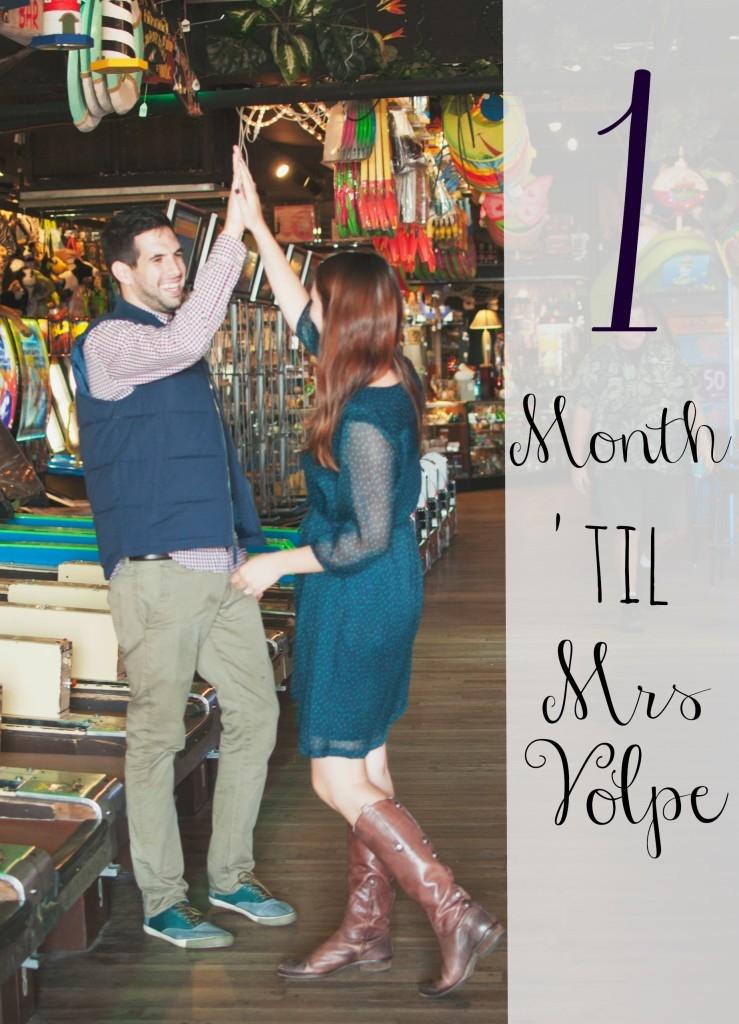 1 month til