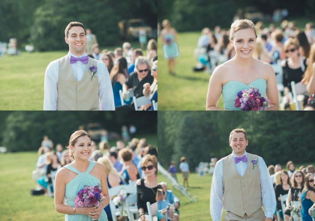 Bridal Party Aisle