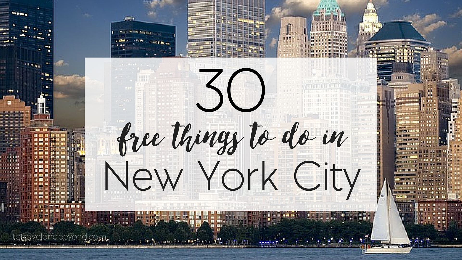 30 free things to do in new york city to travel beyond for Thing to do new york