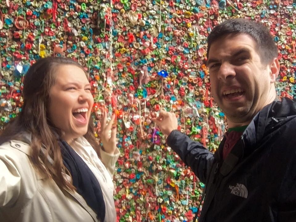 Gum Wall In Seattle Washington