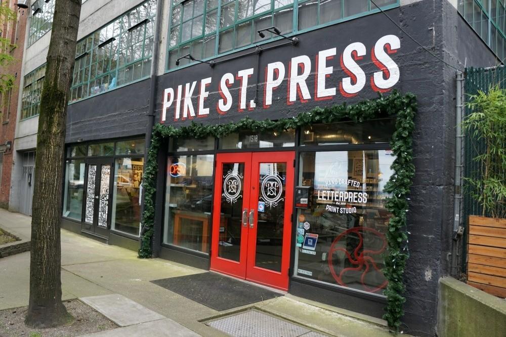 Pike St. Press In Seattle Washington