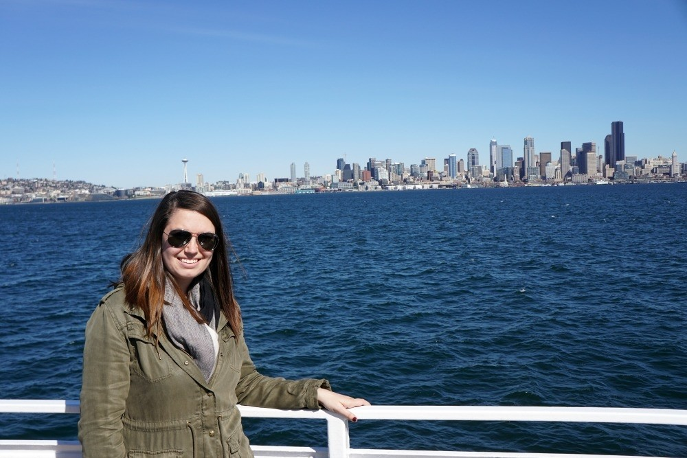 Seattle Washington From The Ferry