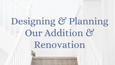 Designing and Planning for our home